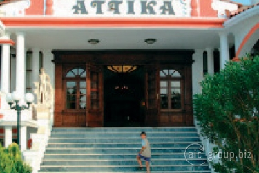 cazare la Attika Beach & Villa Hotel