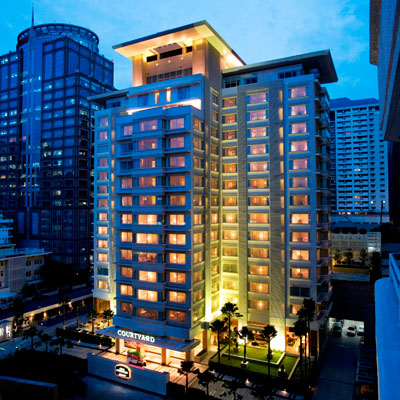 cazare la Courtyard By Marriott Bangkok