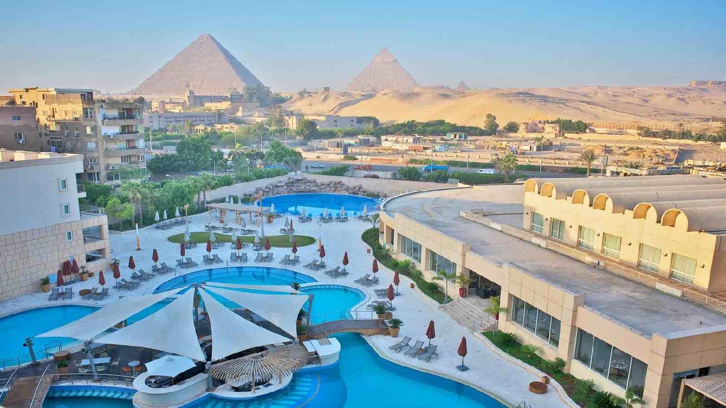 cazare la Le Meridien Pyramids Cairo