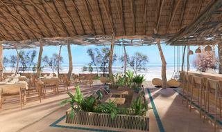 cazare la Zanbluu Beach  Hotel