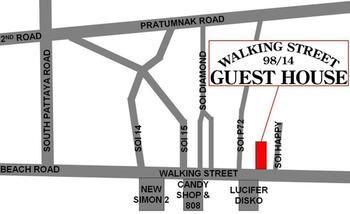 cazare la Walking Street Guest House
