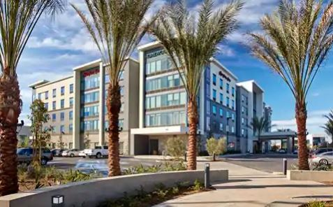 cazare la Hampton Inn Long Beach Airport