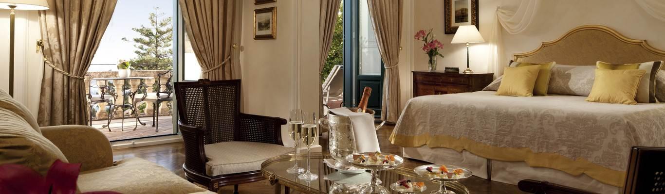 cazare la Belmond Grand Hotel Timeo (deluxe Junior Suite)