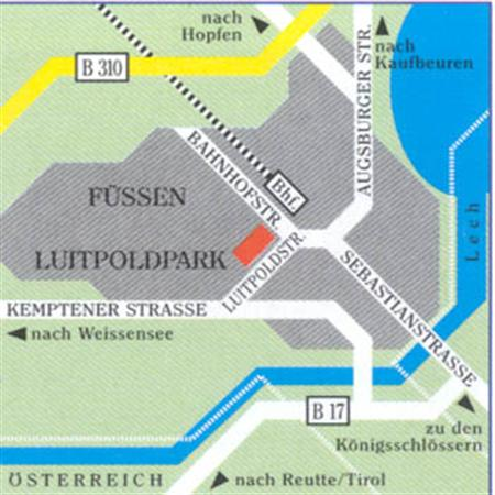 cazare la Luitpoldpark