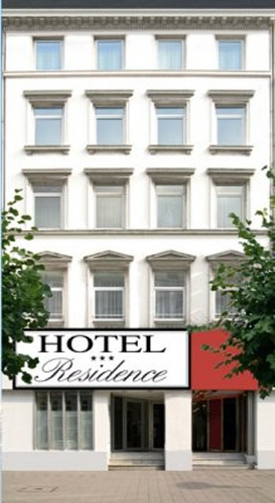 cazare la Residence Hotel Hamburg