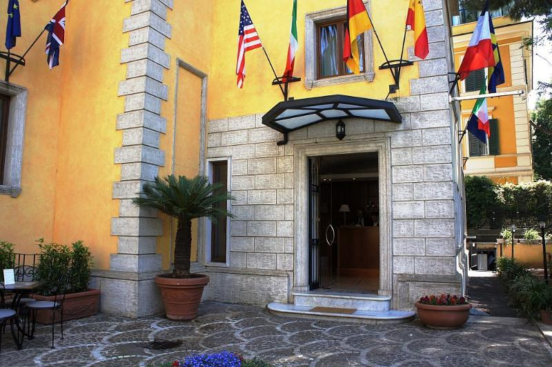 cazare la Relais Villa Patrizi