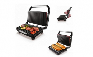 Grill & Co electric cu placi antiaderente 1500 W acum la 282 RON