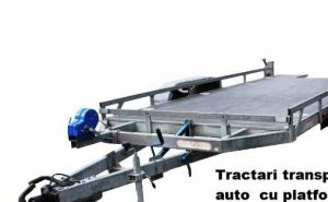 Tractari transport auto cu platforma In Bucuresti la 120RON de la 250 RON