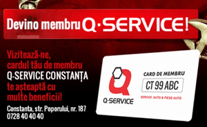 Card de membru pe viata la service auto Q-SERVICE, la numai 39 RON in loc de 330 RON