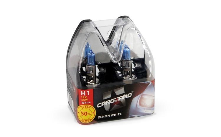 CARGUARD - Set de 2 becuri halogen H1 -
