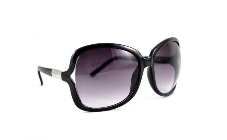 Ochelari de soare rotunzi 5 Negru - Mov