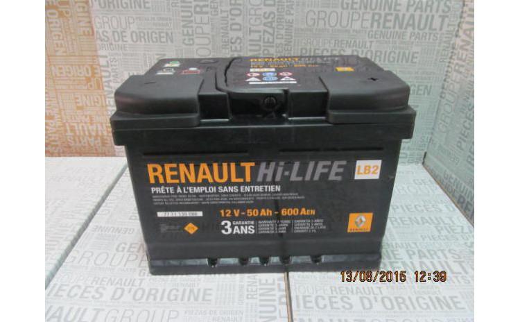 Baterie auto 50 Ah 600 A(EN) 12V