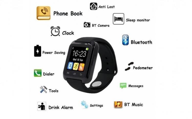 Smartwatch Phone Mate Bluetooth Mtk6260  La Doar 299 Ron In Loc De 620 Ron