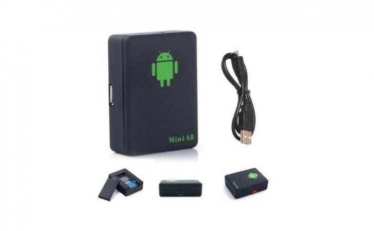 Mini GPS/GPRS/GSM cu microfon