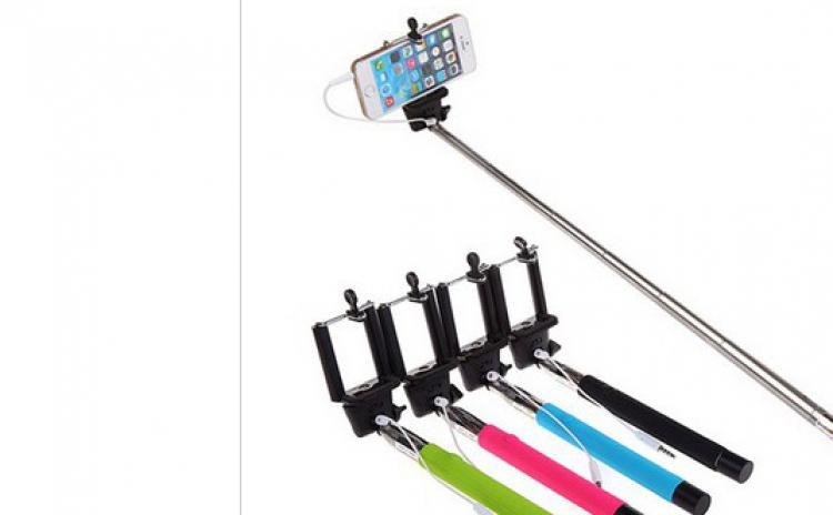 Selfie Stick cu cablu 3,5 mm