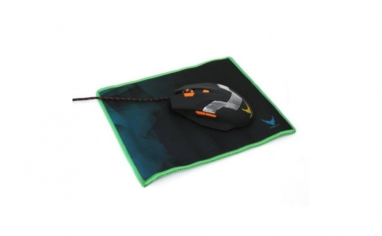 Imagine indisponibila pentru Mouse + Mousepad Gaming OMEGA Varr 2400DPI, negru, la doar 49.9 RON in loc de 129.9 RON