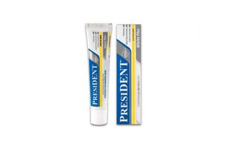 Imagine indisponibila pentru Pasta de dinti albire naturala President White Plus strong efect 30 ml, la doar 9.99 RON