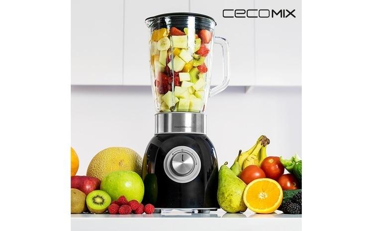 Mixer cu Pahar Cecomix Titanium Black