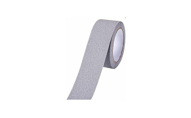 Banda adeziva antialunecare gri 5cm X 5m