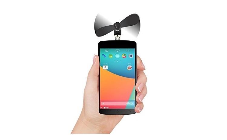 Ventilator mini portabil pentru telefon