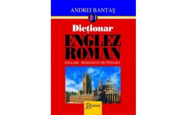 Dictionar englez-roman, autor Andrei Bantas