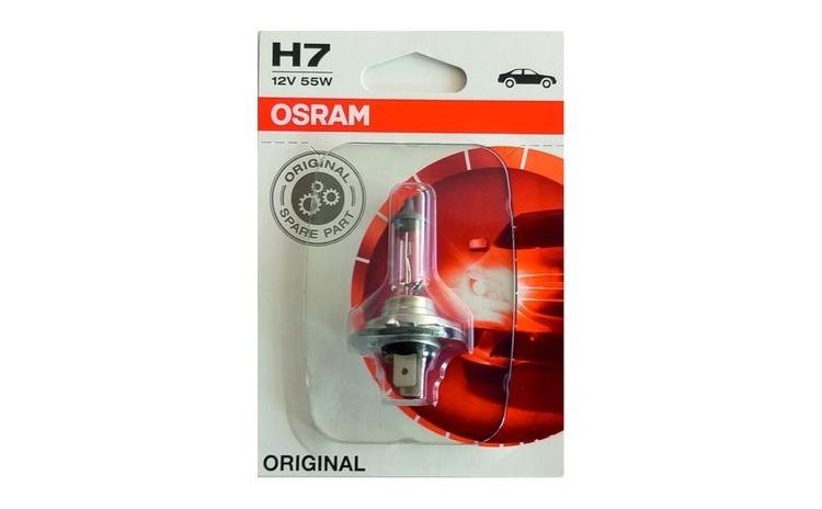 Bec halogen far auto H7, OSRAM, 12V 55W