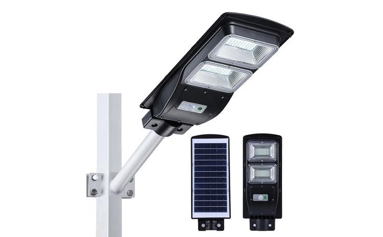 Lampa stradala SOLARA 60W, telecomanda