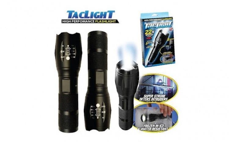 Lanterna tactica - 5 moduri iluminare