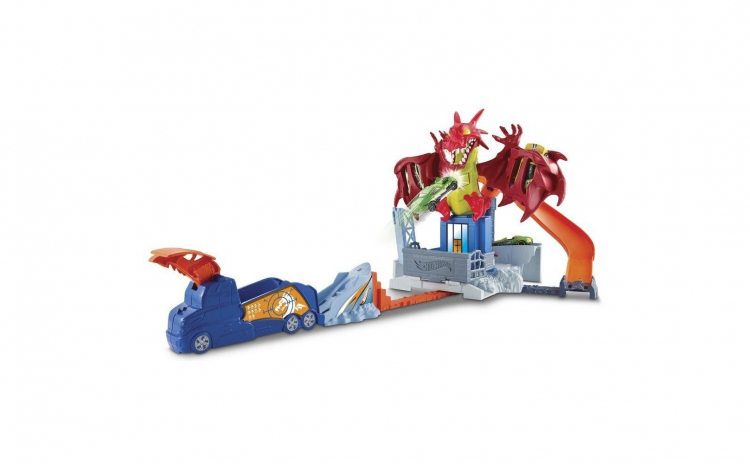 Pista de joaca Hot Wheels Dragon Furios