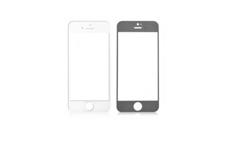 Ecran Geam Sticla Iphone 5 5s 5c Alb