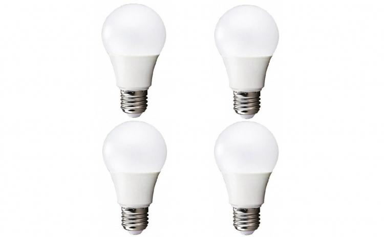 Pachet 4 becuri cu LED, E27
