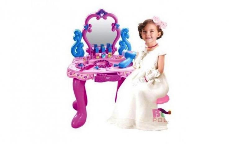 Masuta De Toaleta Pentru Fetite Cu Oglinda Lumini Sune Arhivat
