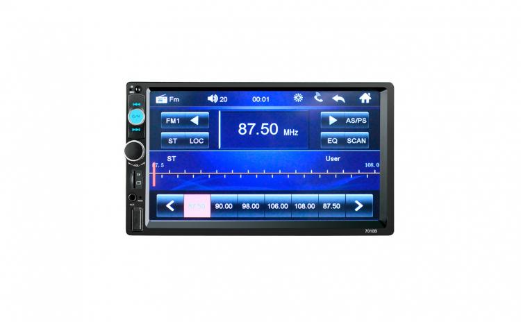 "Mp5 player 2 DIN 7"" Bluetooth USB"