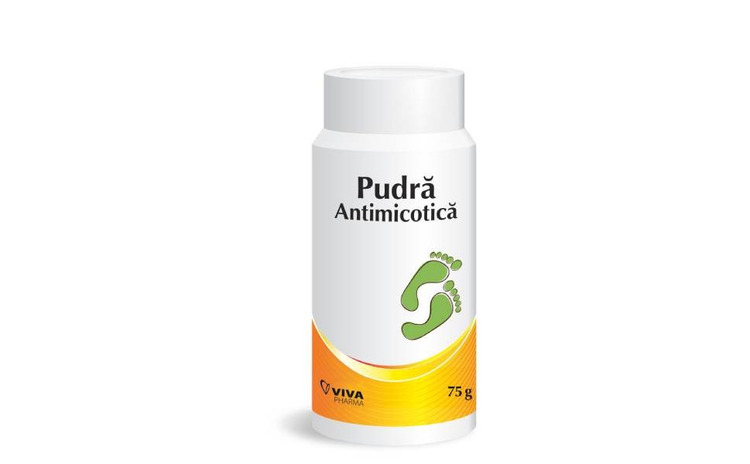 Pudră antimicotică Viva Pharma, 75 g