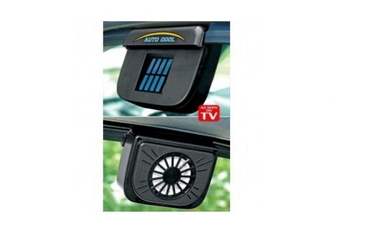 Sistem de aerisire auto cu panou solar