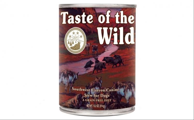 Conserva-Taste Of The Wild Southw 390 gr