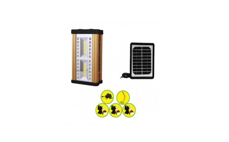 Kit lanterna panou solar LED 10W