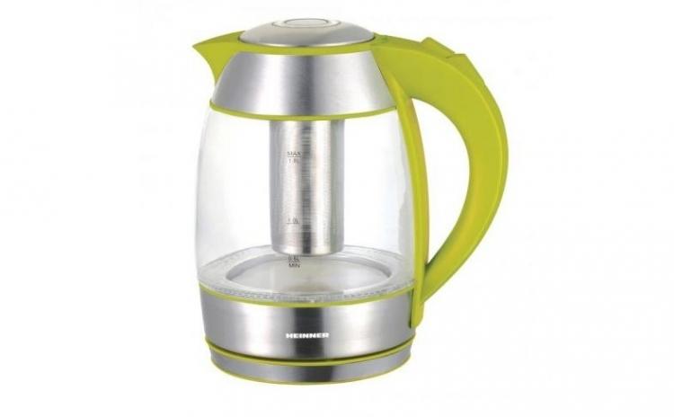 Fierbator cu filtru pentru ceai