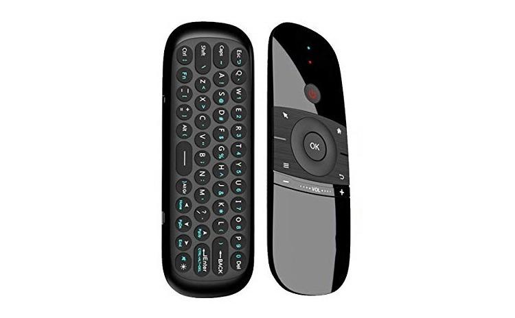 Telecomanda si Tastatura Wireless, cu