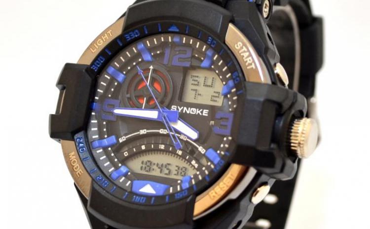 Reduceri Ceasuri de mana – 60 % Reducere – Pret Synoke Sports Power sk026 albastru