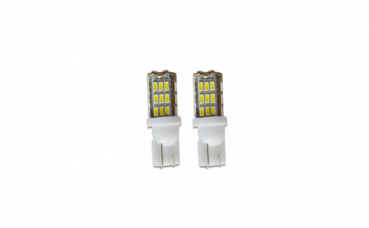 Set 2 x Bec LED pozitie T10 W5W