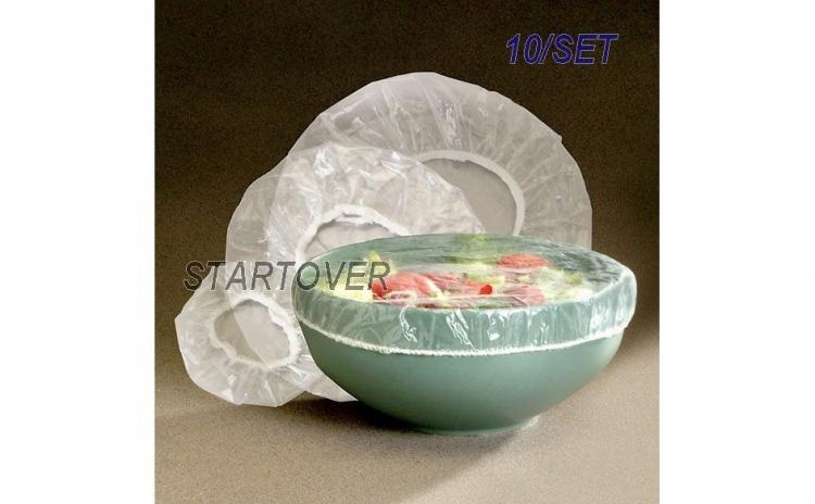 Set 10 huse/folii plastic pentru boluri