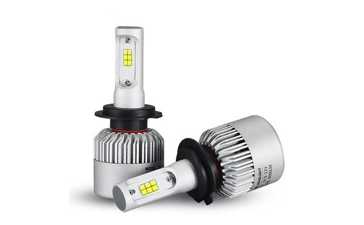 Bec LED S2 Lumileds cu chip Philips H11