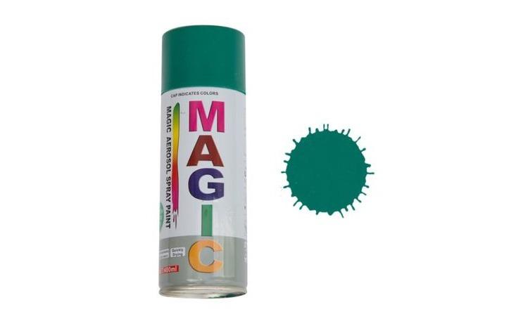 Vopsea spray Magic verde 6016, 400 ml