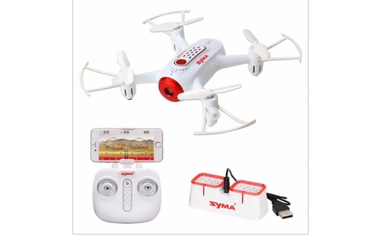 Minidrona Syma X22w, Camera Hd 720p, Fpv, Mentinere Altitudine, Planificare Traseu