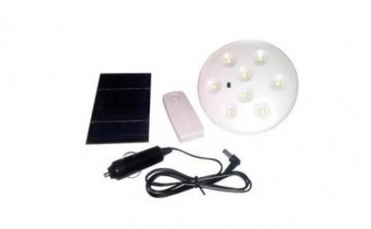 Bec LED solar+curent