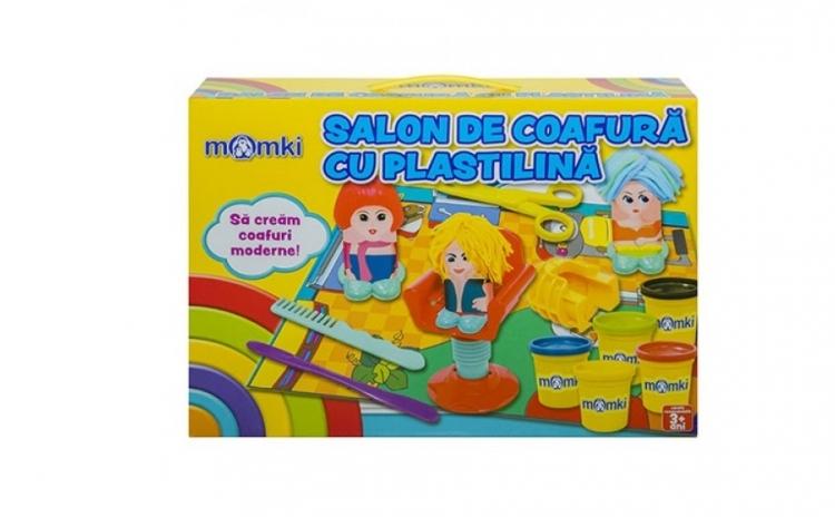 Plastilina cu forme - salon de coafura