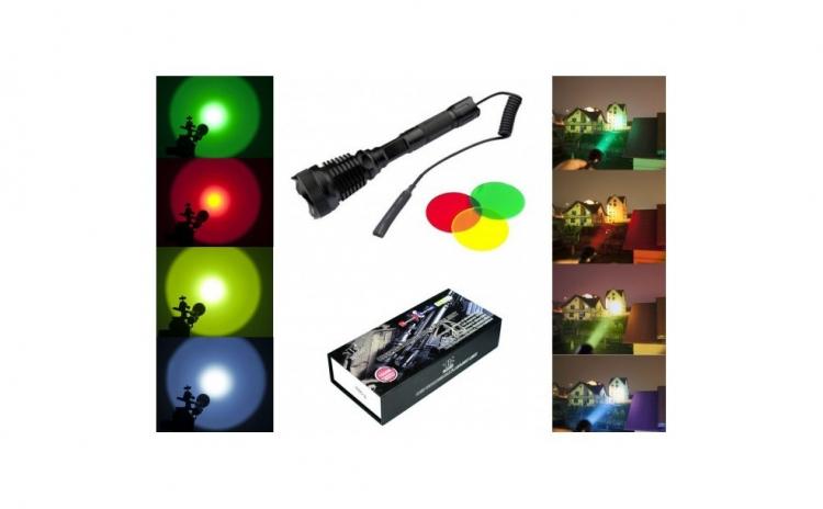 Lanterna cu LED CREE XM-L T6