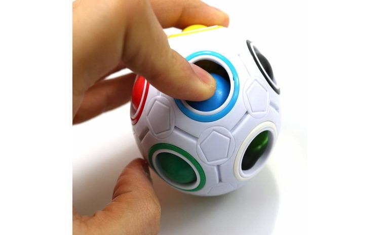 Minge magica curcubeu,fidget ball, 39CUB