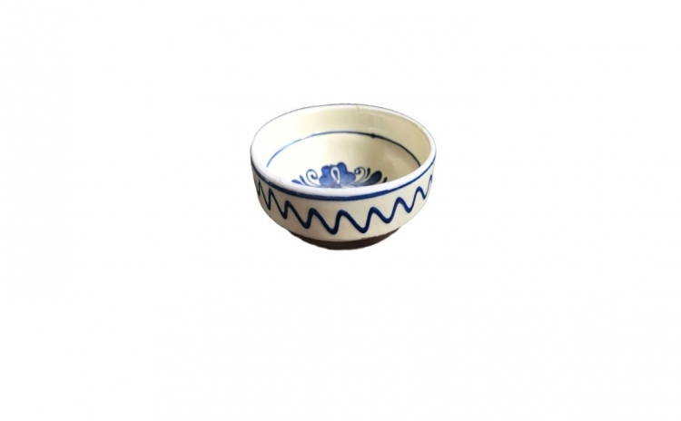 Bol ceramica Corund, ø 10 cm, albastru